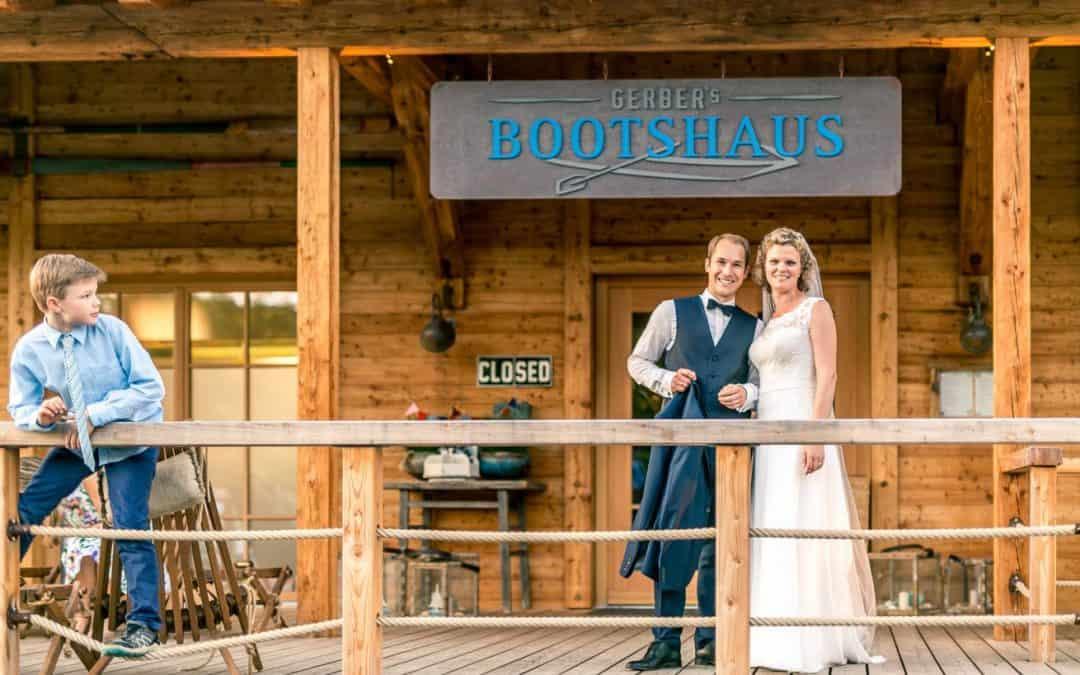 Gerber's Bootshaus in Uhingen – Hochzeit von Cathrin & Philipp