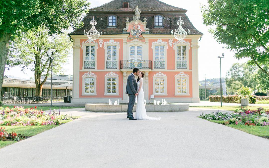 Hochzeitsfotograf in Schwäbisch Gmünd – Zwei Fussballfans auf Ewig