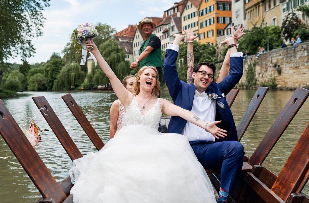 Hochzeit in Tübingen von Kristin & Moritz